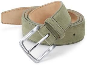 Saks Fifth Avenue Men's Suede Feather Edge Belt