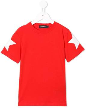 John Richmond Kids star print T-shirt