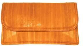 Latico Leathers Women's Eelskin Envelope Flap Clutch L8411.
