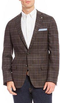 Daniel Cremieux Plaid Wool Blazer