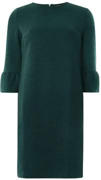 Dorothy Perkins Green Flute Sleeve Shift Dress
