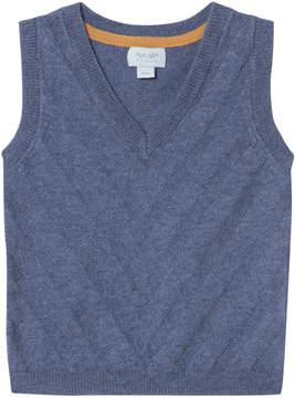 Mini A Ture Noa Noa Miniature Vintage Indigo Sleeveless Vest