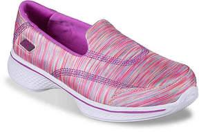 Skechers GoWalk 4 Toddler & Youth Slip-On Sneaker - Girl's