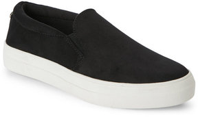 Madden-Girl Black Gipsy Slip On Platform Sneakers