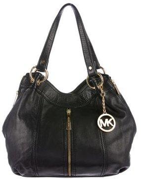 Michael Kors Leather Zipper Tote