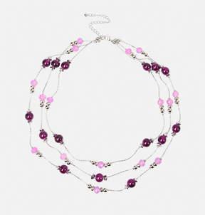 Avenue Plum Layered Necklace