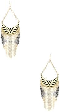 Amrita Singh Women's Enamel Chandelier Earrings
