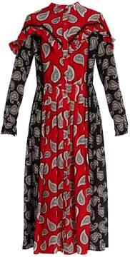DAY Birger et Mikkelsen DODO BAR OR Mick paisley-print silk midi dress