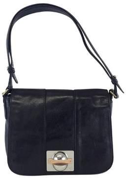 Tory Burch Black Leather Shoulder Bag - BLACK - STYLE