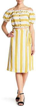 Dee Elly Stripe Skirt
