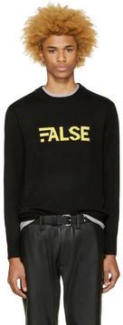Public School Black Gage Merino Pullover
