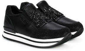 Hogan platform fringed sneakers
