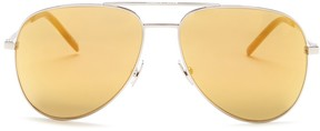 Saint Laurent Women's Aviator Sunglasses