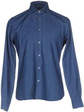 Andrea Morando Denim shirts