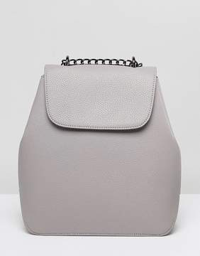 Asos DESIGN chain strap backpack