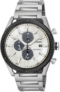 Citizen Drive from Eco-Drive Men's Chronograph Stainless Steel Bracelet Watch 43mm