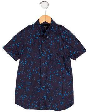 Little Marc Jacobs Boys' Printed Button-Up Shirt