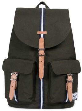 Herschel Men's Dawson Offset Stripe Backpack - Green
