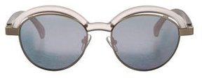 Le Specs Slid Lids Reflective Sunglasses