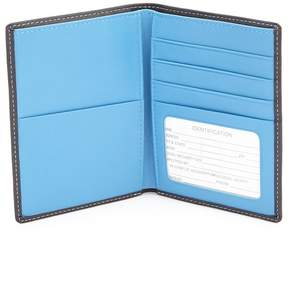 Royce Leather Small Passport Wallet