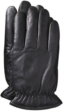 Johnston & Murphy Microfleece-Lined Leather Gloves