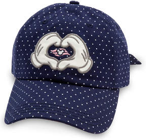 Disney Sailor Minnie Mouse Bow Baseball Hat Cruise Line - Adults