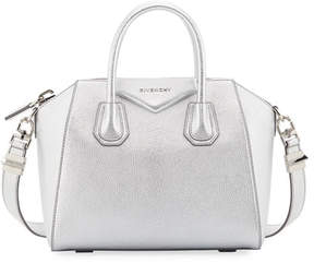 Givenchy Antigona Small Metallic Leather Satchel Bag
