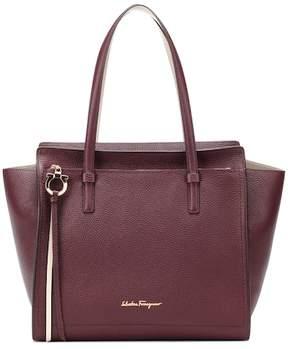 Salvatore Ferragamo Amy Medium leather shopper
