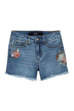Joe's Jeans Hi Rise Stretch Denim Shorts (Big Girls)