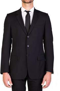 Christian Dior Men's Virgin Wool Two-button Suit Black.