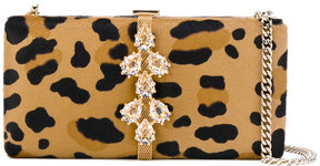 Dsquared2 jewelled clutch bag