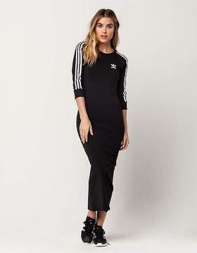 adidas 3 Stripe Midi Dress