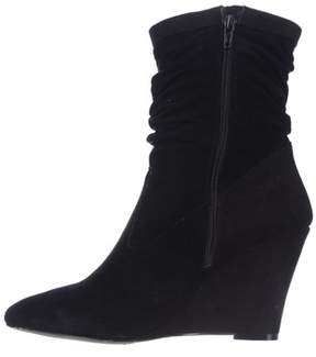 INC International Concepts Womens Everleeh Leather Pointed Toe Mid-calf Fashi....
