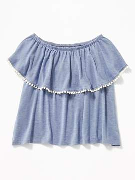 Old Navy Ruffled Off-the-Shoulder Top for Girls
