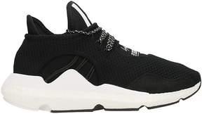 Y-3 Saikou Black Fabric Sneakers