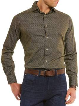 Daniel Cremieux Prince Regular-Fit Foulard Print Long-Sleeve Woven Shirt