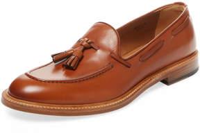 Antonio Maurizi Men's Leather Tassel Loafer
