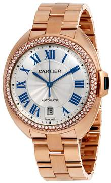 Cartier Cle Flinque Sunray Effect Dial 40mm Watch