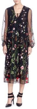 Catherine Malandrino Women's Mirella Midi Dress