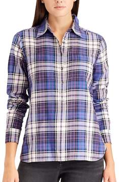 Chaps Women's Plaid Button-Down Shirt