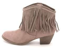 Rock & Candy Womens Haleigh Round Toe Ankle Fashion Boots.