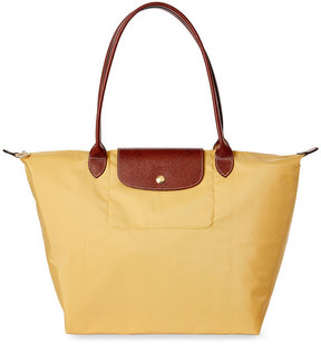 Longchamp Yellow Le Pliage Large Tote - YELLOW - STYLE