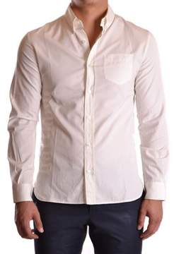 Galliano Men's White Cotton Shirt.