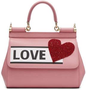 Dolce & Gabbana Pink Love Sicily Bag