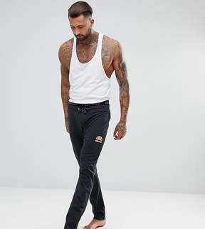 Ellesse Lounge Joggers With Small Logo In Gray