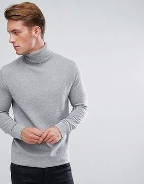 French Connection Roll Neck Sweater In Wool