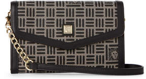 Anne Klein Envelope Chain Strap Crossbody Wallet
