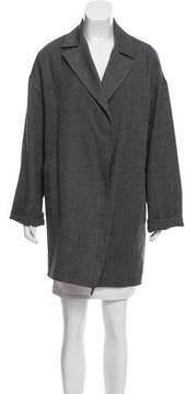 Dusan Wool & Silk-Blend Jacket