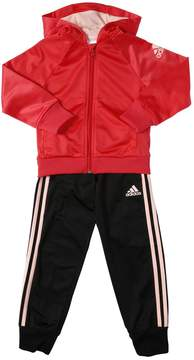 adidas Two Tone Hooded Track Suit