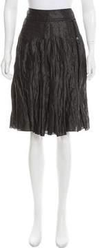 Strenesse Pleated Knee-Length Skirt
